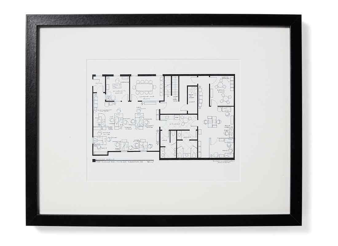 Dunder Mifflin Floorplan