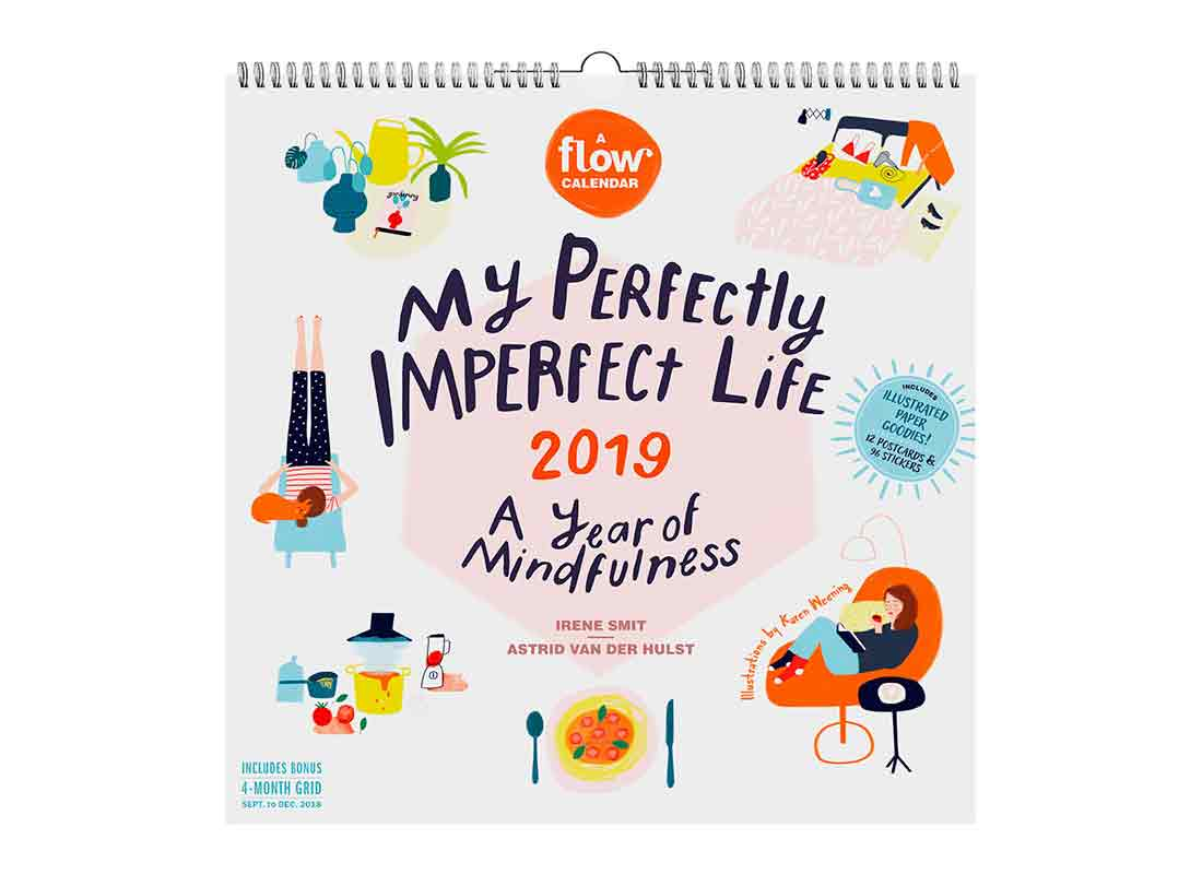 My Imperfect Life: A Year ofMindfulness, aFlow Calendar