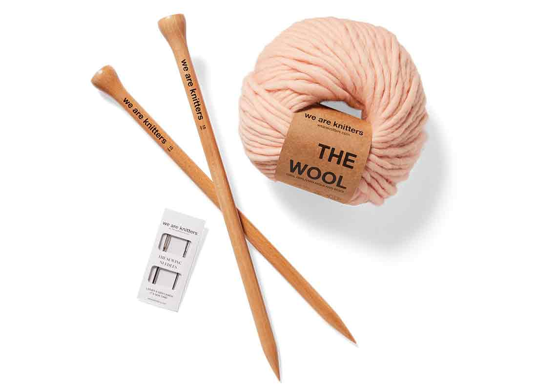 We Are Knitters Dinka Scarf Knitting Kit