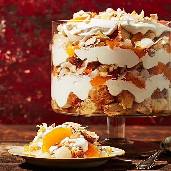 No-Bake Ginger Lychee Trifle