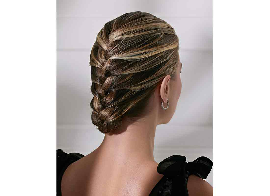 holiday french braid