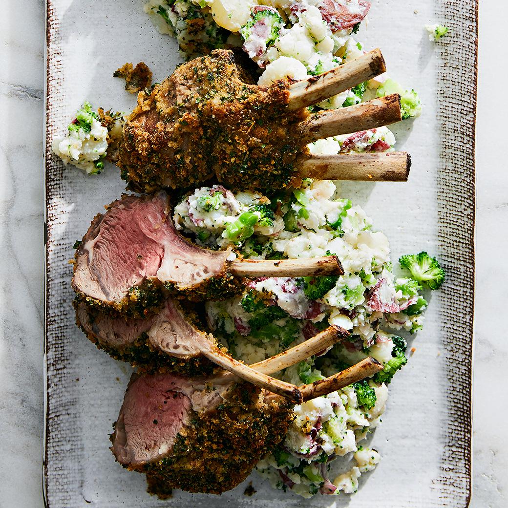Herb-Crusted Lamb