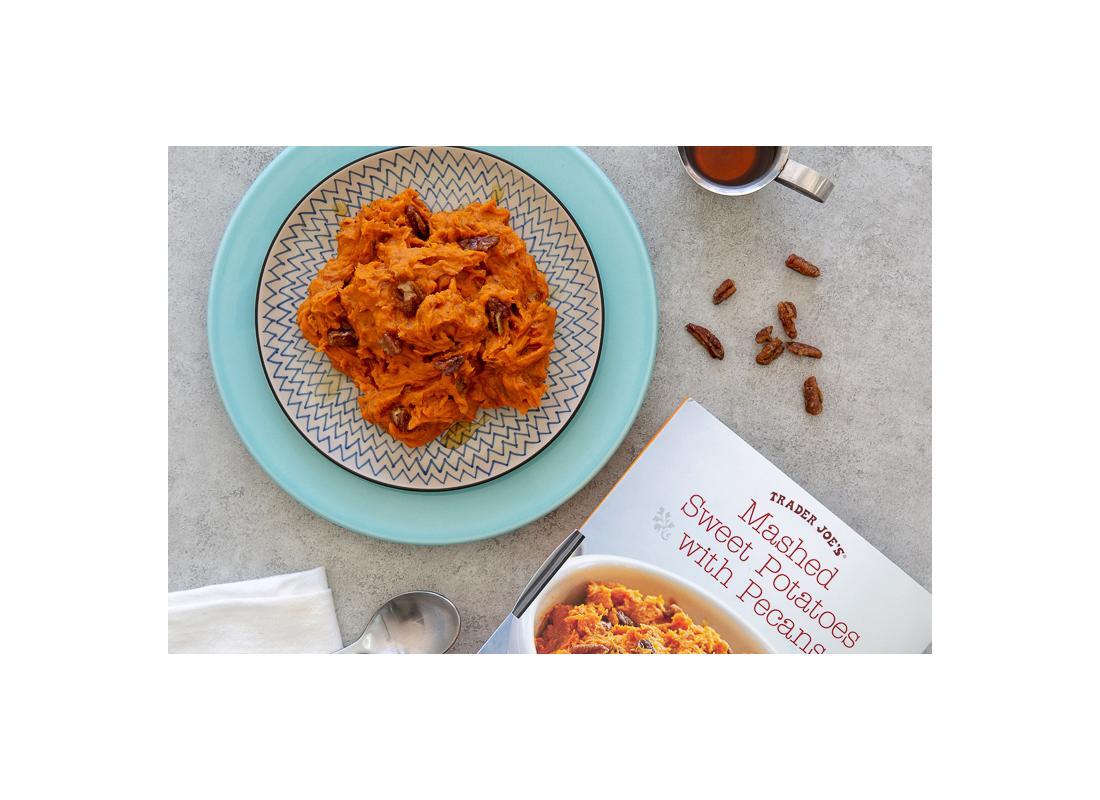 Trader Joe's Mashed Sweet Potatoes With Pecans
