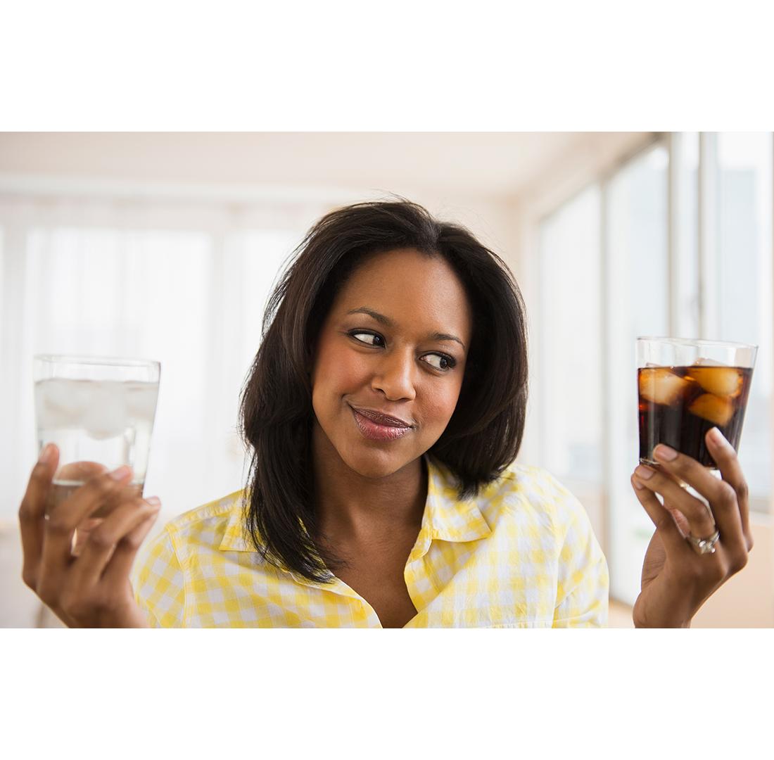 soda or water