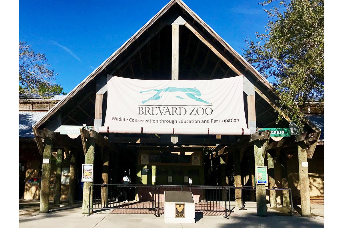 Brevard Zoo entrance