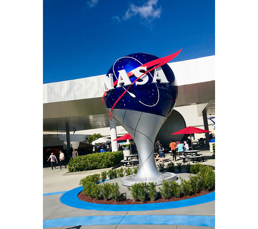 NASA Ball at Kennedy Space Center in Orlando, Florida