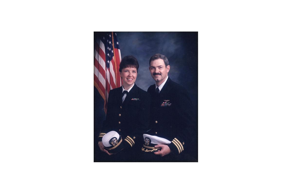 Margie and Steve Navy1