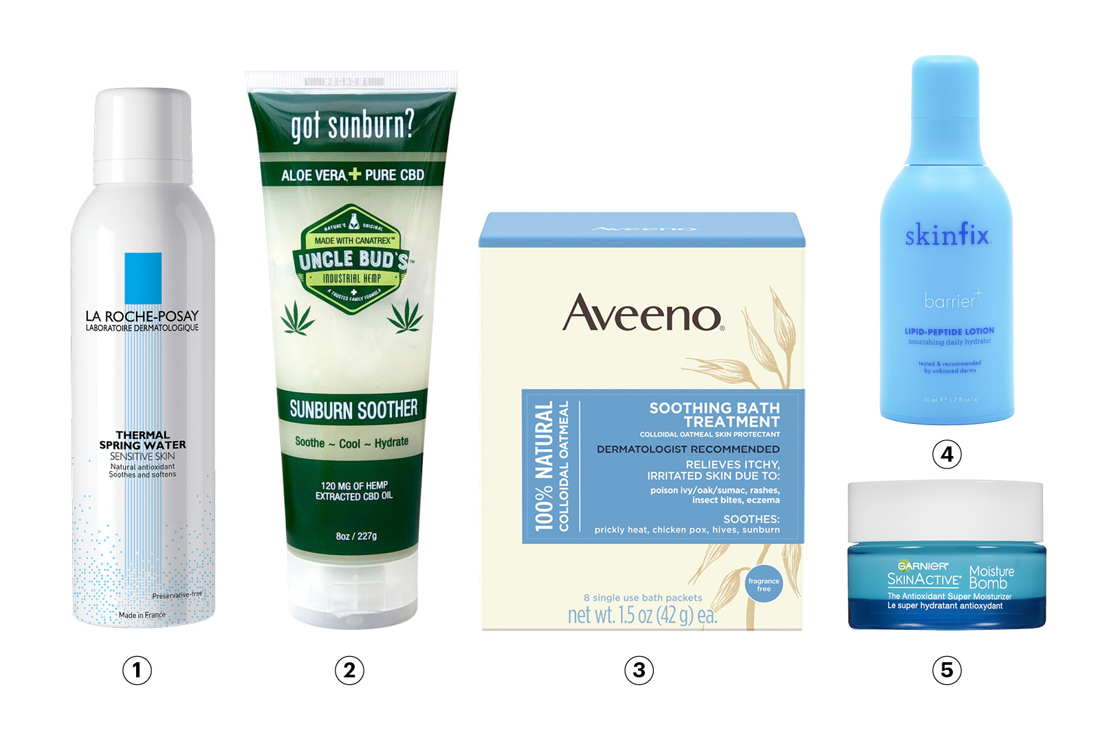 post-sun pampering products 2019