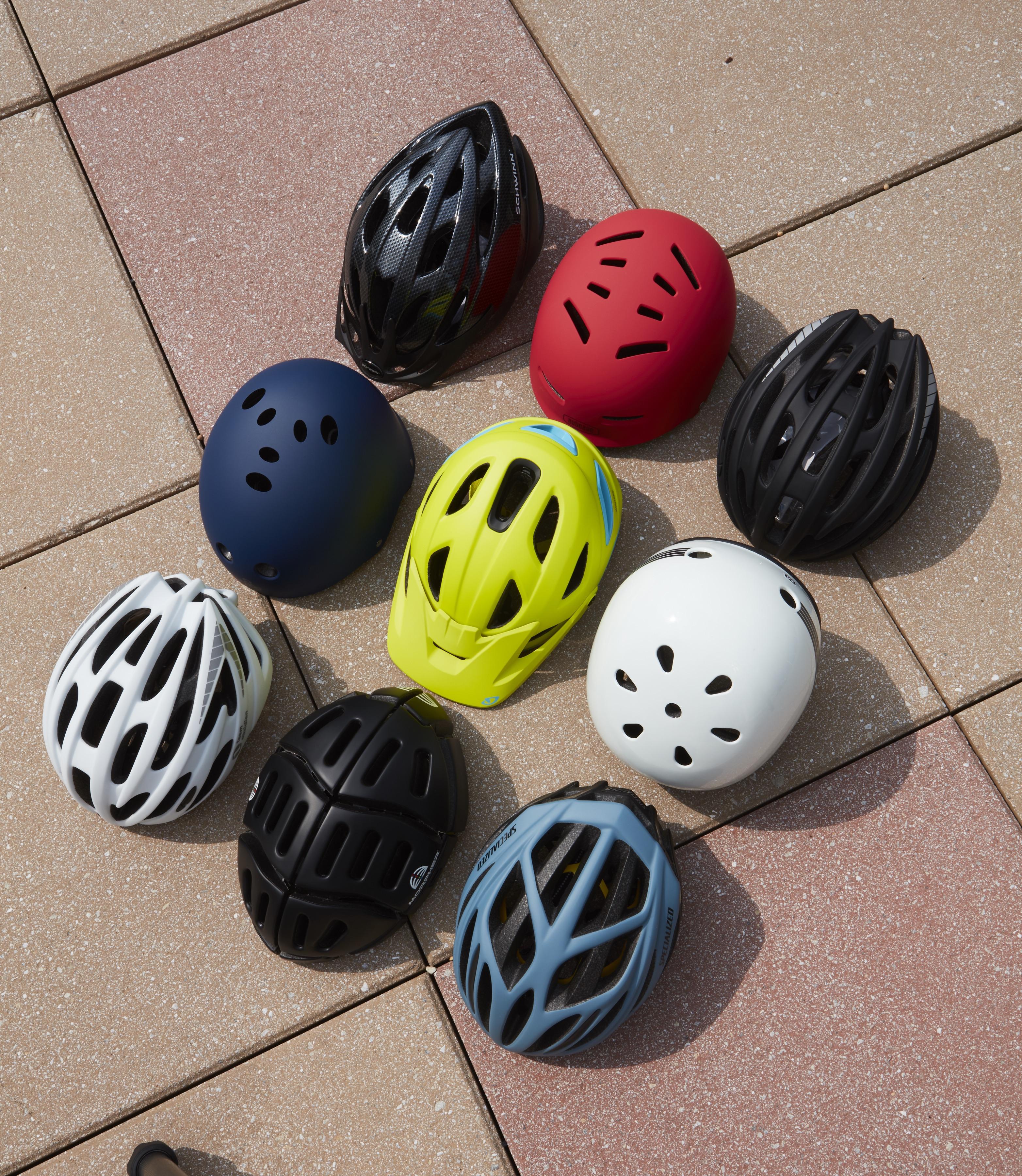 Bike helmets 2019