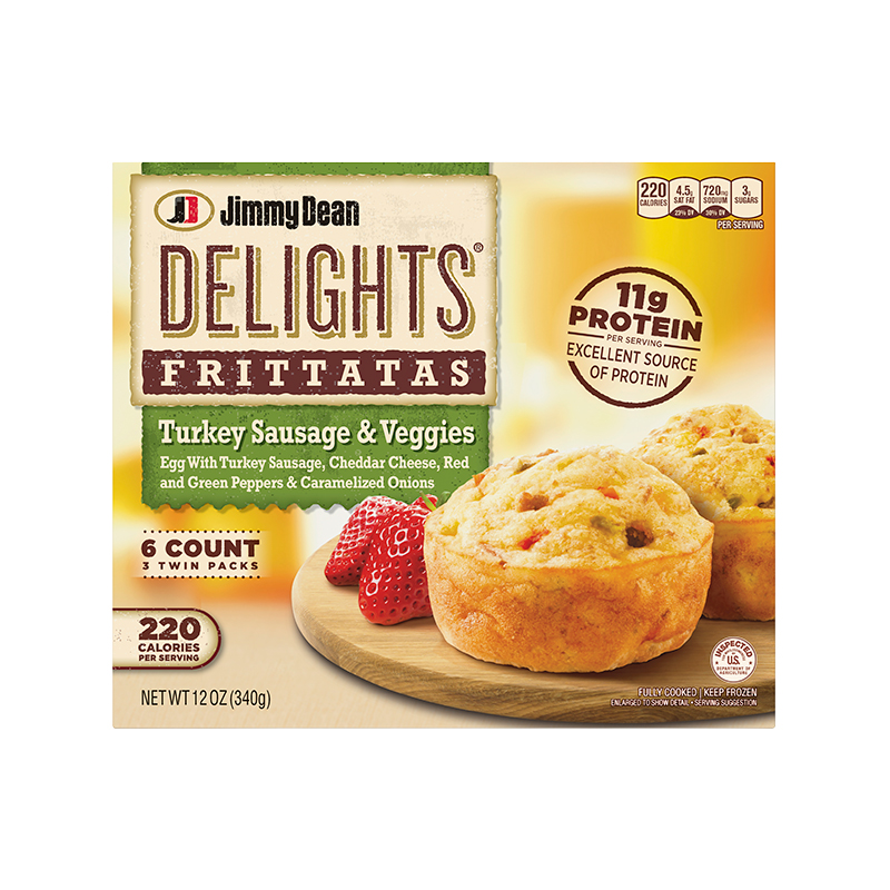 Jimmy Dean Delights Frittatas 2019