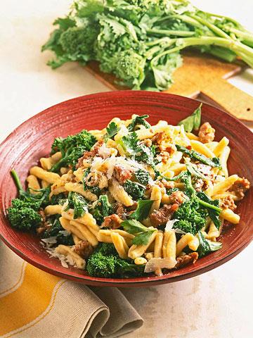 Cavatelli with Broccoli Rabe