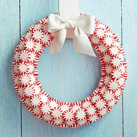 Starlight Mint Wreath