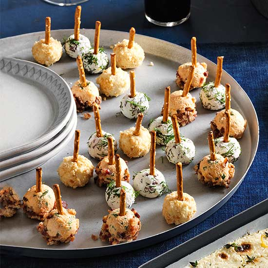 Manchego and Marcona Almond Cheese Balls