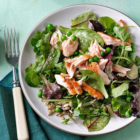 Citrusy Salmon Salad