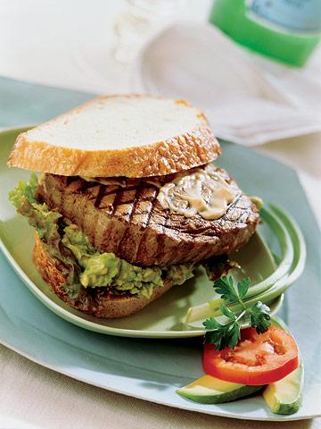 Grilled Tuna Sandwiches