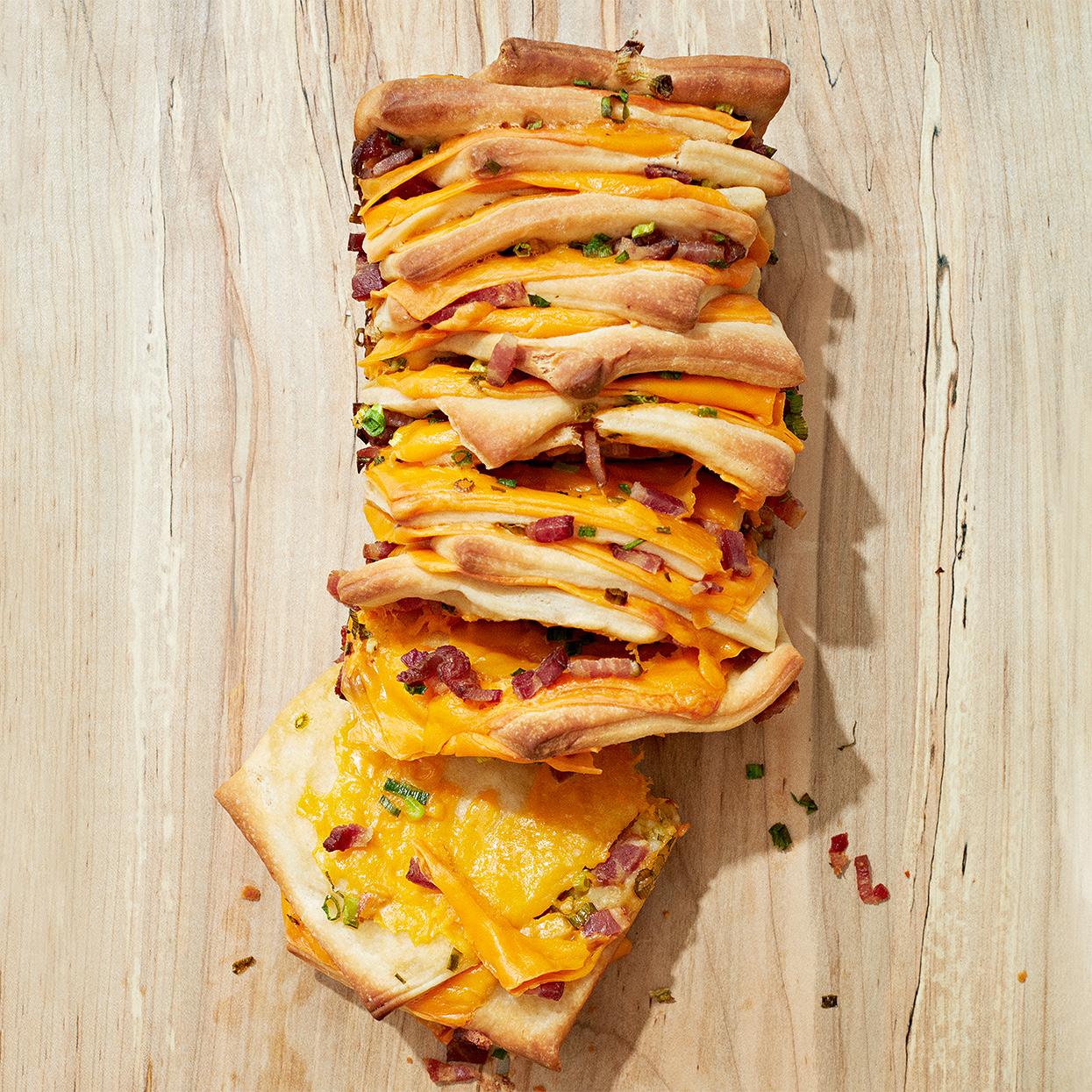 Cheddar, Bacon and Scallion Bread