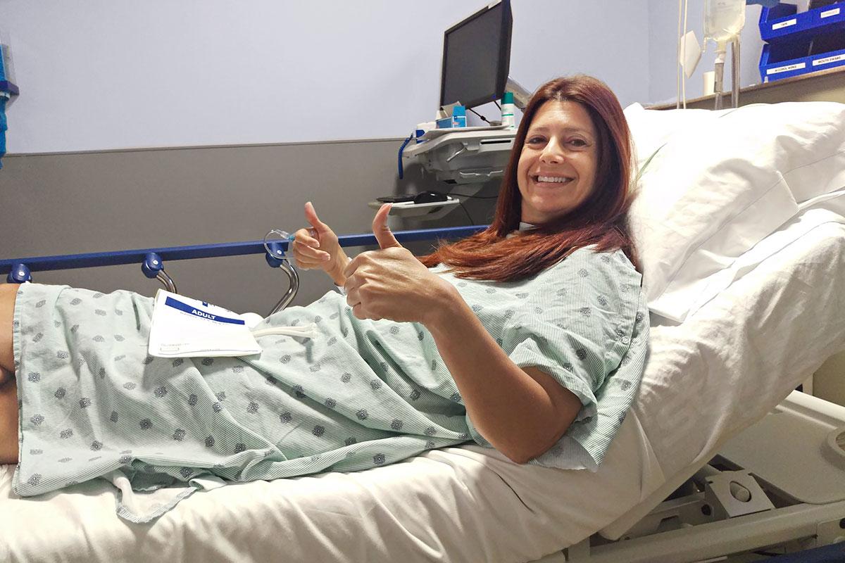 Breast Cancer Survivor Alison Nazarowksi