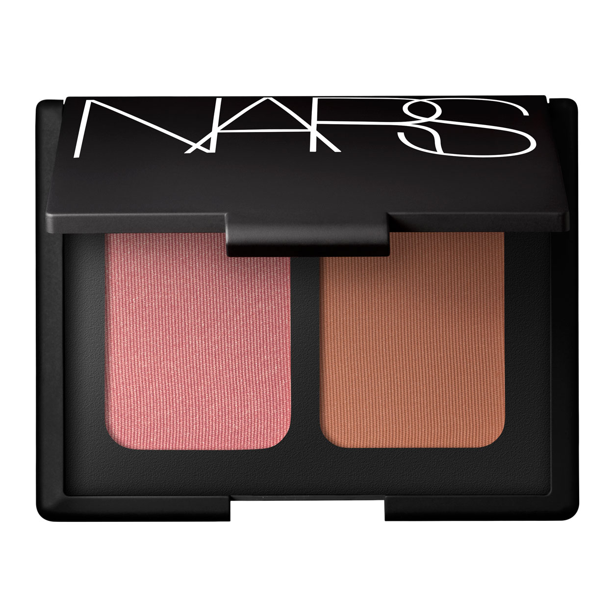 Blush and bronzer give glowing complexion