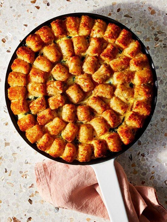 Potato Puff Casserole