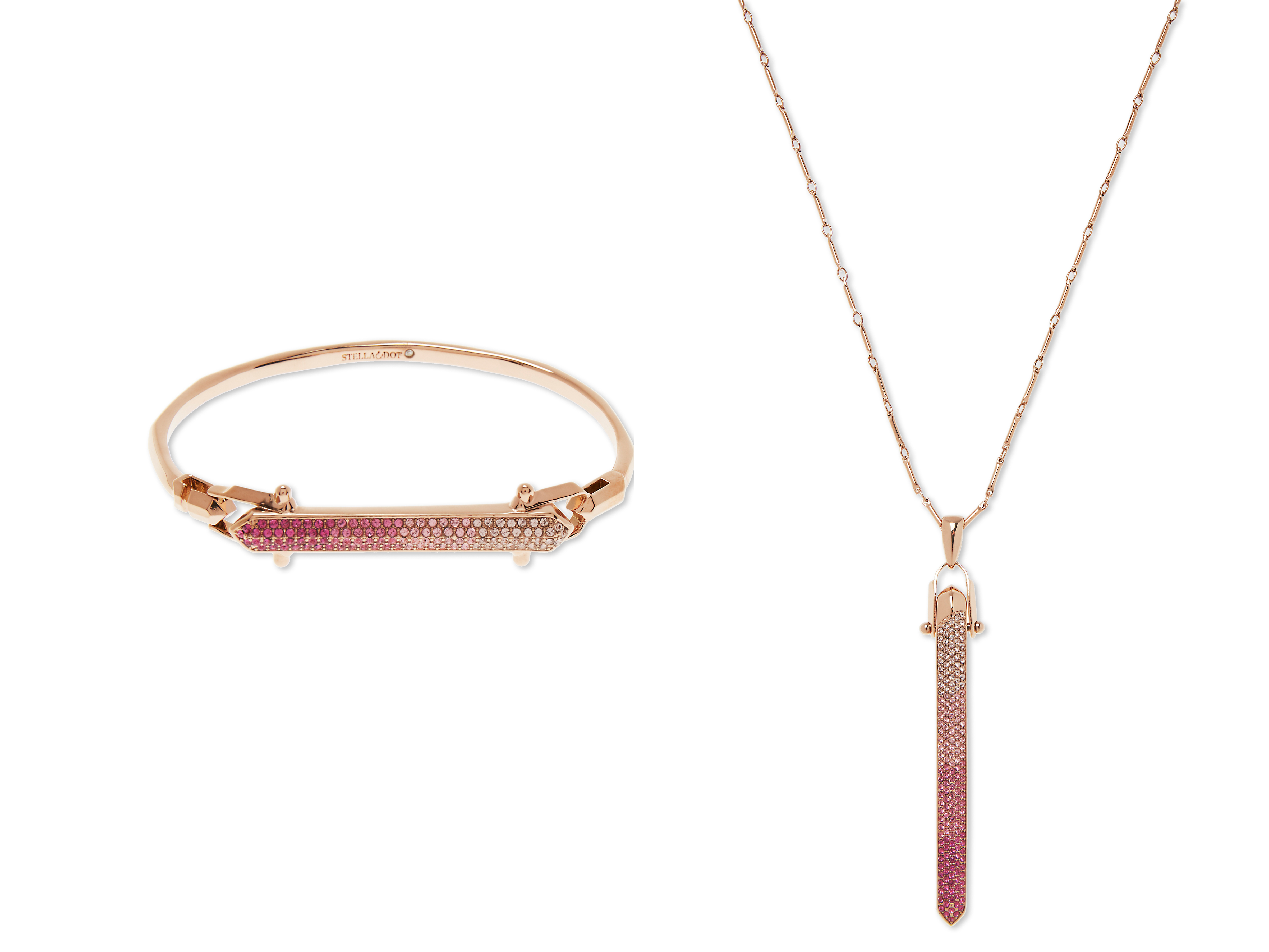 The pink ombré jewelry collection was made especially for this campaign, but the pieces are so beautiful you'll want to wear them all year.What they're donating: Stella & Dot will donate 20% of the retail price from eligible sales from the Breast Cancer Awareness Collection to Bright Pink, an organization focused on prevention and early detection of breast and ovarian cancer in young women.Buy:                                      Rebel Pendant, $149                                      Rebel Bracelet, $99