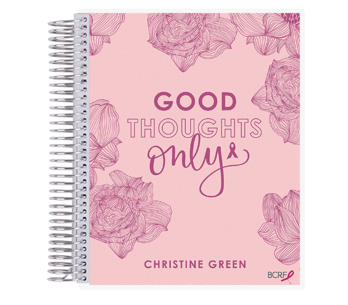 erin condren good thoughts only notebook