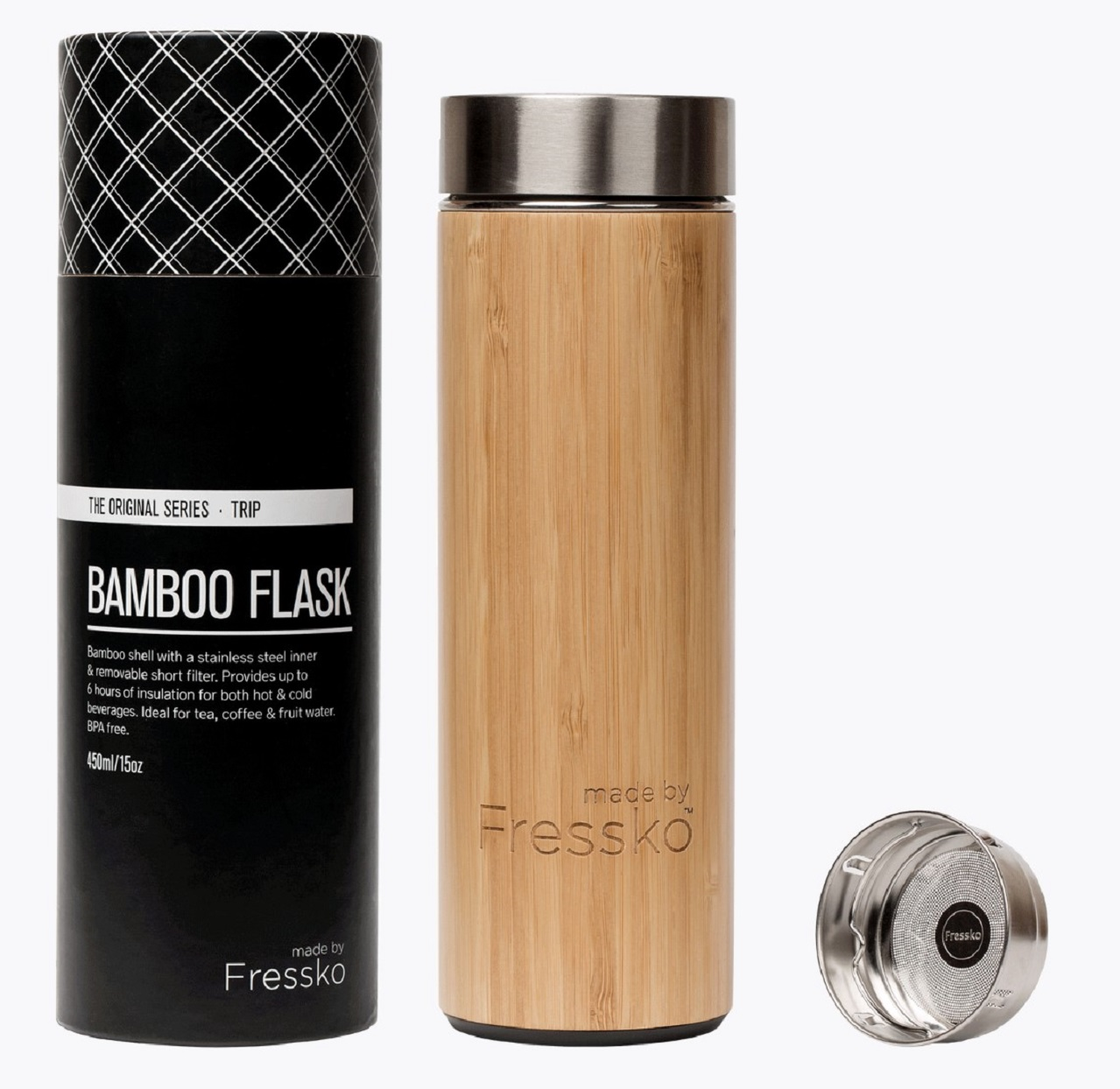 2019 holiday gift guide Made by Fressko 'Trip' Flask