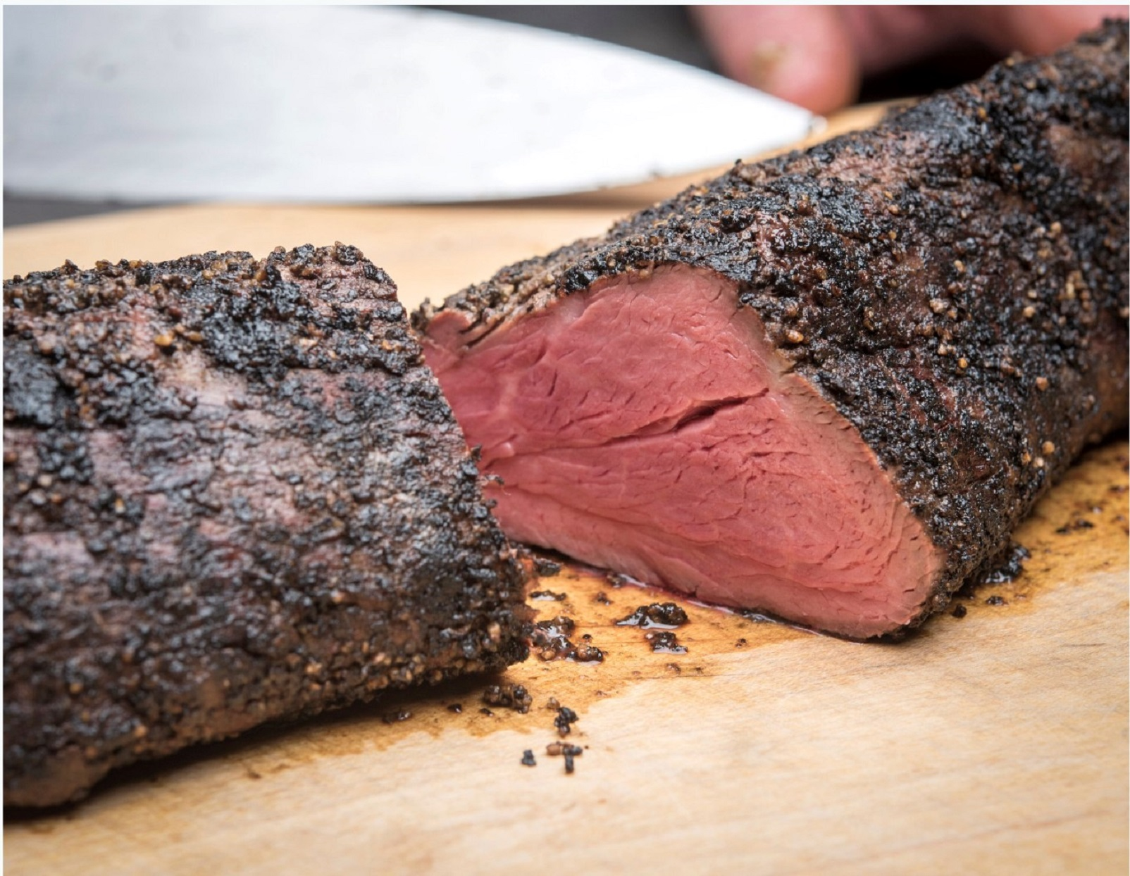 2019 holiday gift guide Perini Ranch Steakhouse Mesquite Smoked Peppered Beef Tenderloin