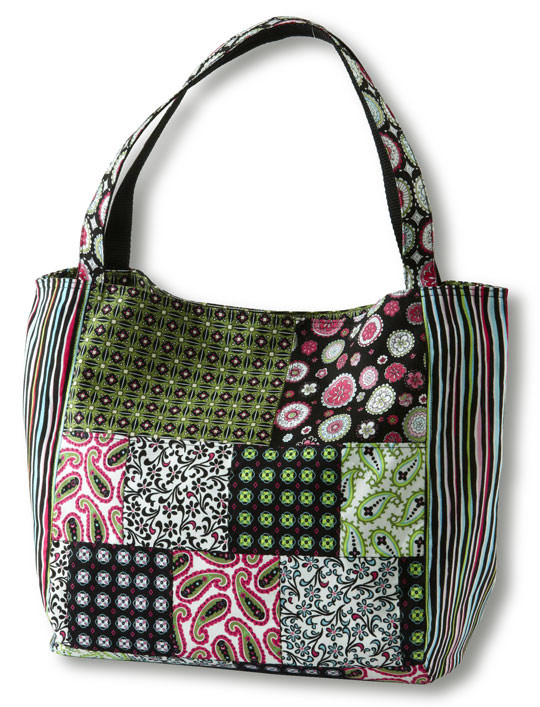 Paisley & Print Patchwork Bag