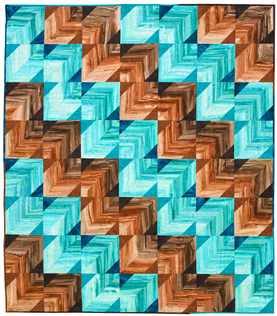 Sea and Sand Quilt
