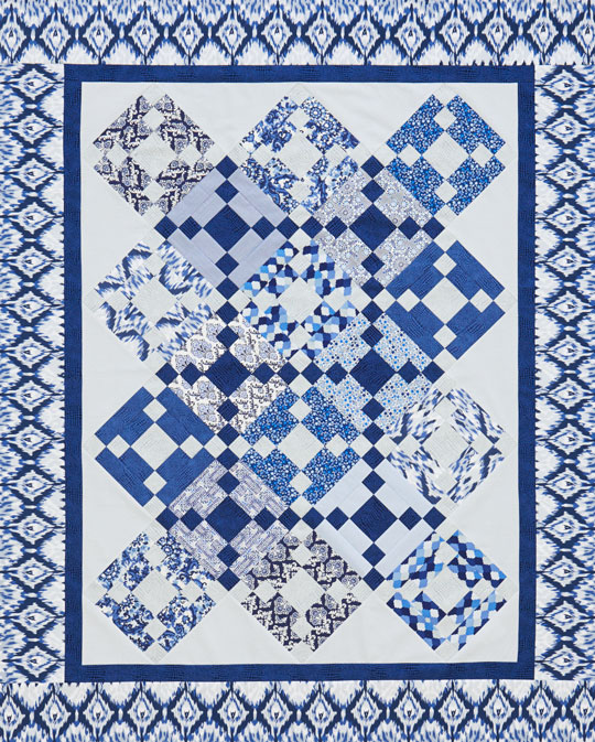 Blue Heirloom Quilt