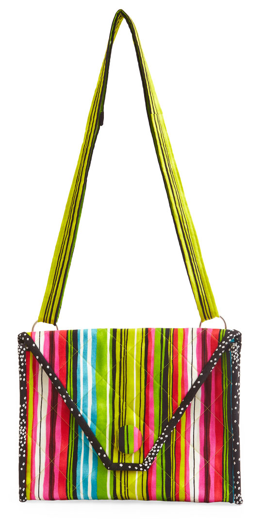 Striking Stripes Purse