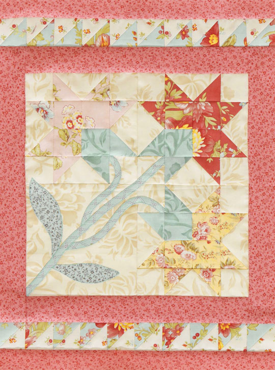 Carolina Lily Tabletop Quilt