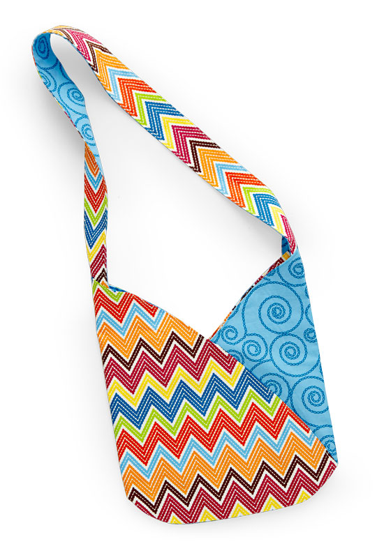 Bright Chevron Bag