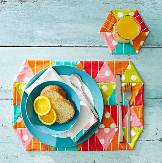 Happy-Go-Lucky Table Setting