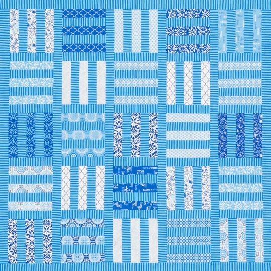 Bolts of Blue Quilt
