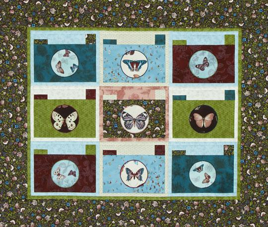 Scenery Snapshots Wall Quilt
