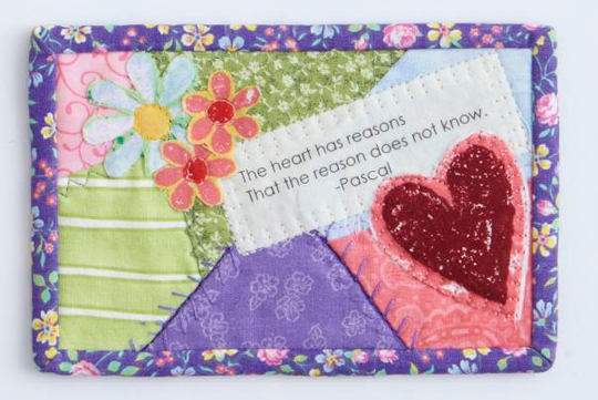 Heartfelt Quote Postcard