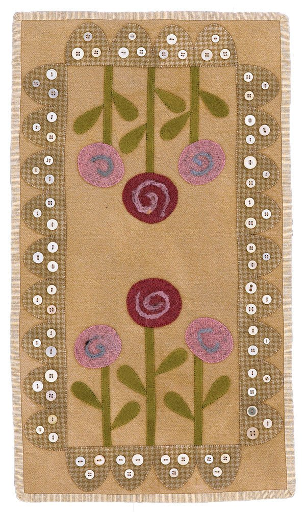 Posies Wool Table Mat