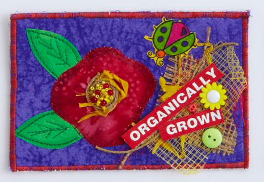 Organically Grown Postcard