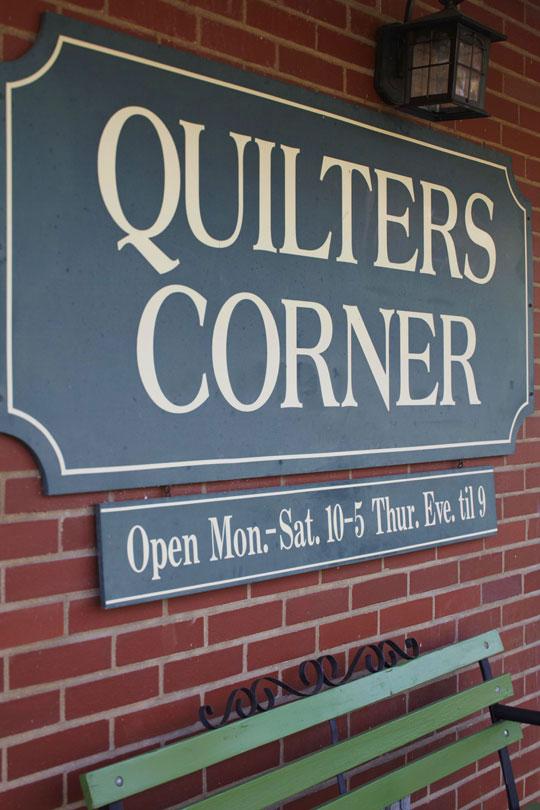 Quilters Corner