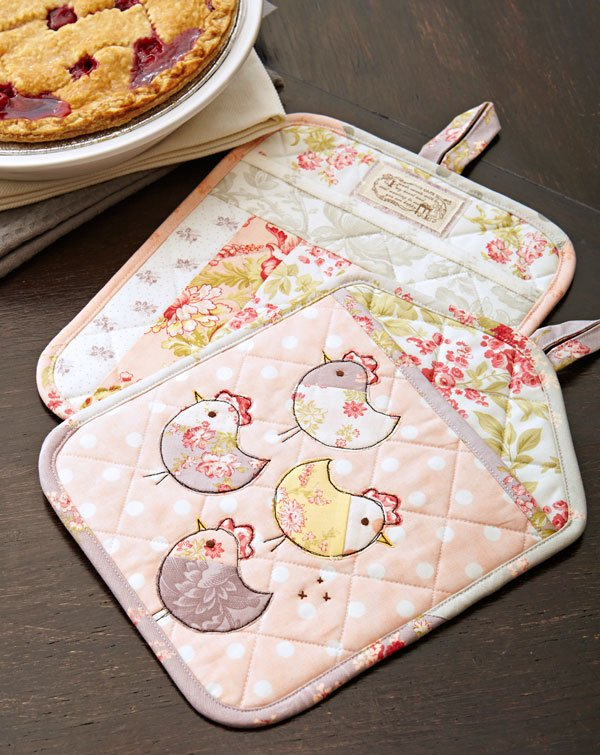 Tweet Treat Pot Holders