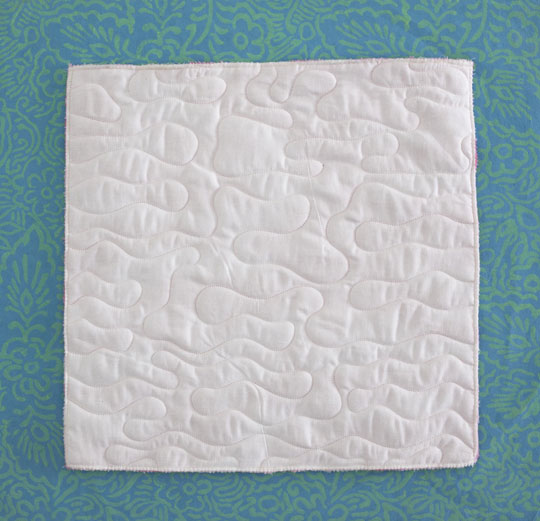 Piecing Plush Fabric