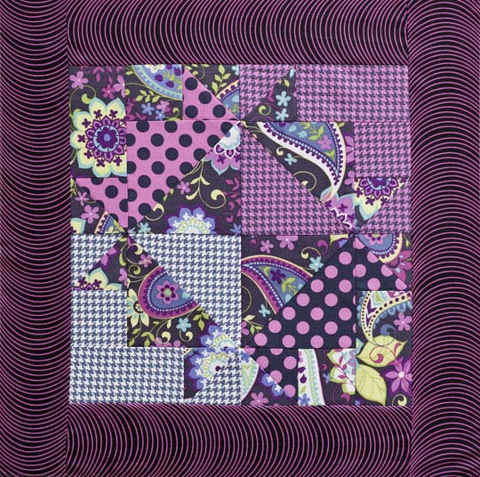 Cross and Crown Tabletop Quilt
