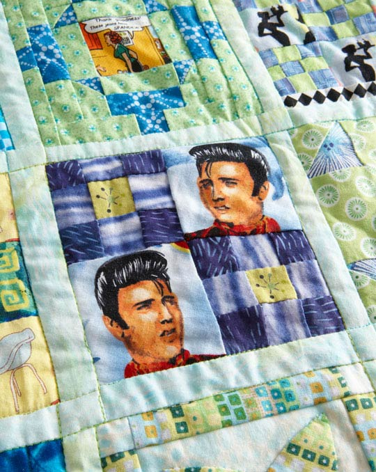 Match Fabric Designs with Block Shapes