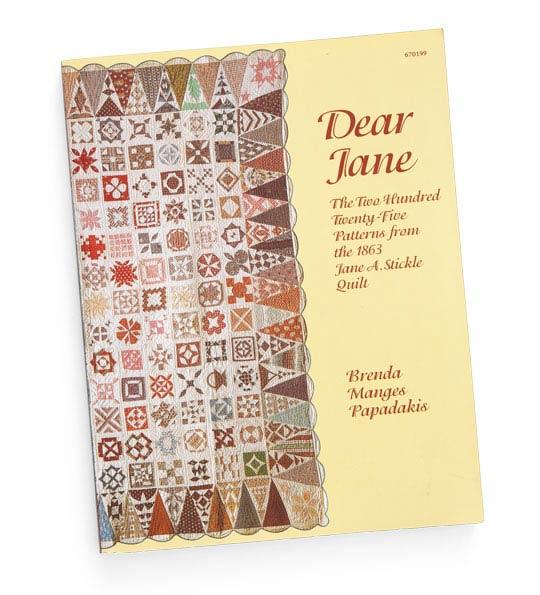 Get the Dear Jane Book