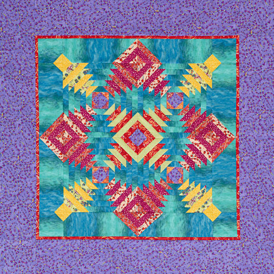 Pineapple Twist Wall Quilt