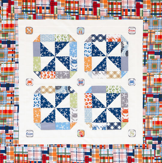 Nautical Pinwheels Quilt