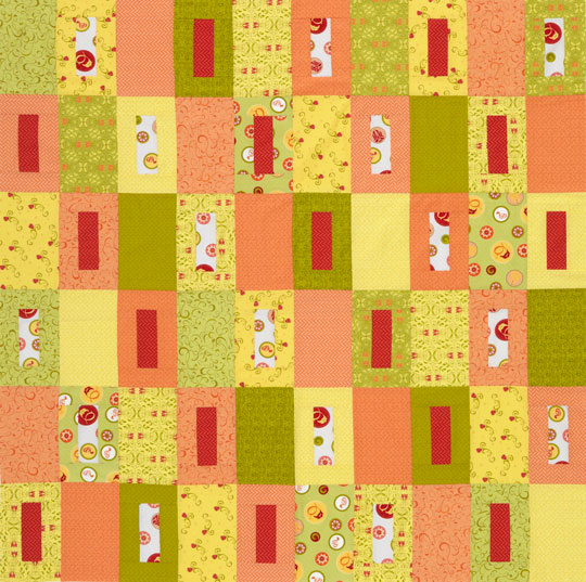 Two-Block Citrus Quilt