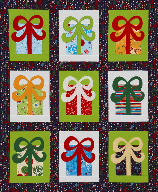 Holiday Gifts Wall Hanging