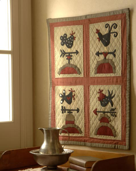 Weather Vane Wall Quilt